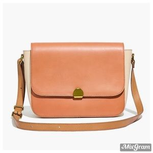 NEW Madewell abroad colorblock shoulder bag